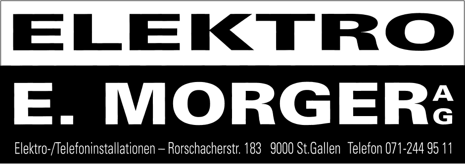 elektro Morger
