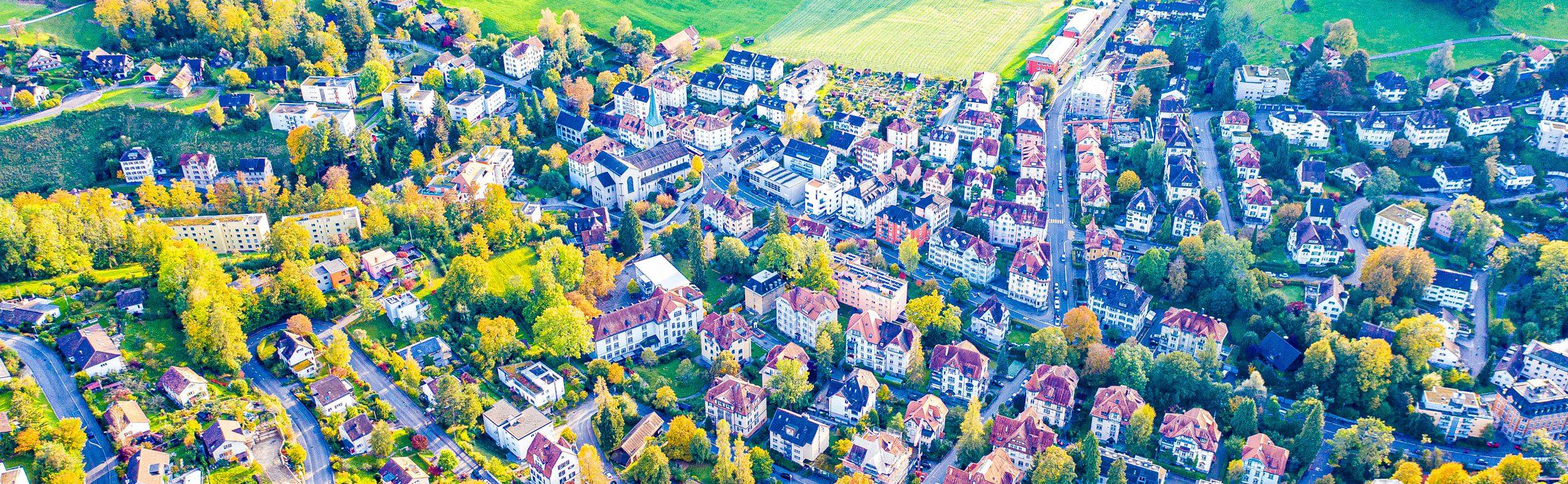 Luftaufnahme von St. Georgen